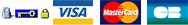 logos visa cb mastercard paypal